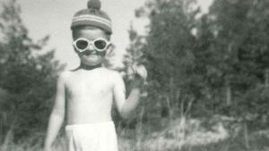 Kjell Westö som barn på 60-talet