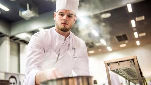 Pensalabördiga Matthias Åhman är Årets kock.