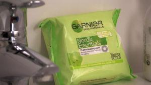 Garnier Nordic Essentials puhdistusliinat
