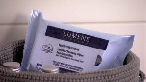 Lumene Sensitive Touch hellävaraiset puhdistusliinat