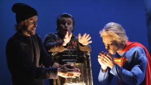 Kohtaus Puccinin oopperasta La Bohème, Taideyliopisto & Sibelius-Akatemia 2014.