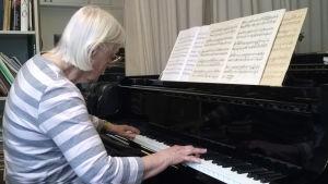 Pianisti Sirkka Harjunmaa