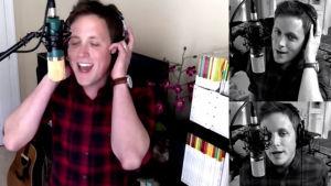 Chase Holfelder gör succé på Youtube genom att göra om låtar från dur till moll.