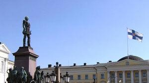 Senatstorget i Helsingfors