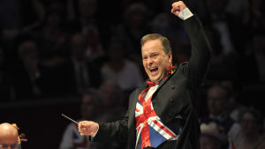 BBCn sinfoniaorkesterin ylikapellimestari Sakari Oramo & Last Night of the Proms 2014.