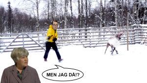 Egentligen borde nog Elisabeth Rehn fått renen istället för Carl Haglund.