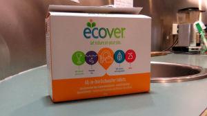 Ecover luottaa ekologiseen imagoonsa.