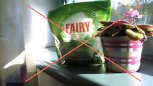 Fairy ei ole ekologinen vaihtoehto forsorimäärän takia