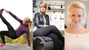 Lina, Victoria och Carro är månadens bloggare.
