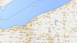 Cleveland på karta