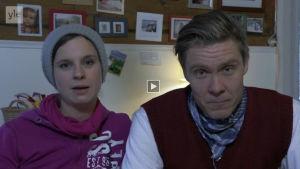Olga ja Tuukka Temonen antavat omat lupauksensta