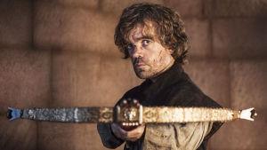 Game of Thrones-sarjan Tyrion Lannister (Peter Dinklage).