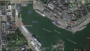 Guggenheim finns redan utsatt på Googles karta.
