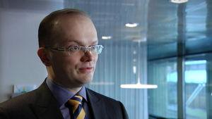 Penna Urrila, chefsekonomist vid Finlands näringsliv EK.