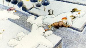 Lumiukko-animaatio