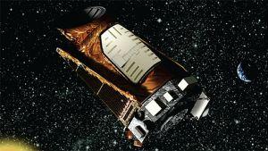Keplerteleskopet i rymden.