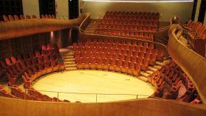 Cremonassa sijaitseva Auditorium Giovanni Arvedi.