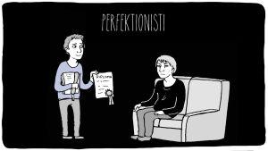 Alkoholistin läheistyyppi: perfektionisti