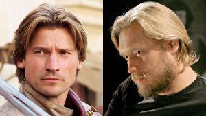 Jaime Lannister ja Samuli Edelmann TV2:n Game of Thrones-kilpailussa