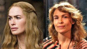 Cercei Lannister ja Irina Björklund TV2:n Game of Thrones-kilpailussa