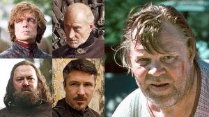 Tyrion, Tywin, Baratheon, Petyr Baelish ja Vesa-Matti Loiri TV2:n Game of Thrones-kilpailussa