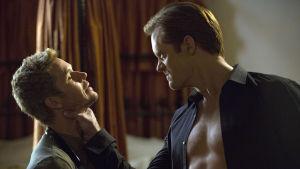 Seitsemännen True Blood-kauden Jason Stackhouse (Ryan Kwanten) ja Eric Northman (Alexander Skarsgård).
