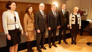 Svenska kungaparet på statsbesök mars 2015