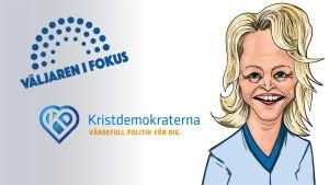Karikatyr av Päivi Räsänen