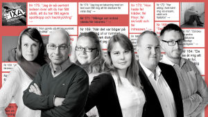 Eva-Maria Koskinen, Patrik Skön, Kia Svaetichin, Annica Lindström, Peter Sjöholm och Alexander Uggla