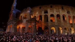 Rom, Via Crucis 2015