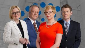 Eduskuntavaalit 2015 tulosilta, yle tv1
