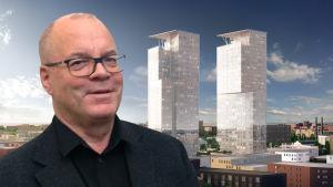 Arkkitehti Pekka Helin ja Kalasataman uudet tornit