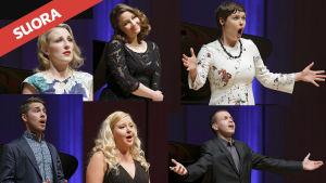 III Kansainvälinen Sibelius-laulukilpailun finalistit.