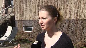 Den ryska frilansjournalisten Polina Kopylova, bosatt i Finland.