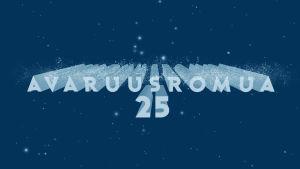 avaruusromua 25 vuotta