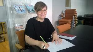Sonja Vartiala, verksamhetsledare Finnwatcg