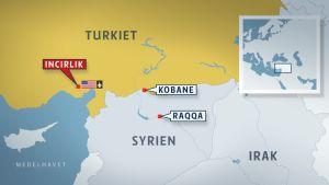 Turkiet har tillåtit att den USA-ledda koalitionen mot IS ska få använda landets flygbaser.