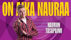 Naurun tasapaino 2015 kilpailija Pietari Vihula