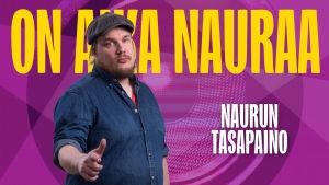 Naurun tasapaino 2015 kilpailija Petri Hankonen