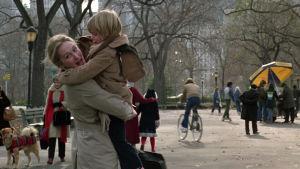 """Meryl Streep och Justin Henry i filmen """"Kramer vs Kramer"""""""