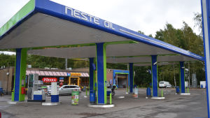 Neste Oil i Munksnäs i Helsingfors