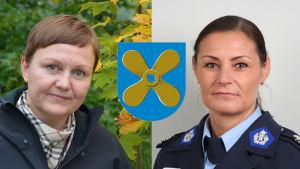 Anneli Pahta och Maria Hoikkala