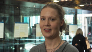 Säveltäjä Maija Hynninen.