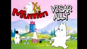 Skärmdump från videon Mumin visar allt.