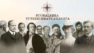 Suomalaisia tutkimusmatkailijoita