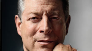 Live Earth -tapahtuman keulakuva Al Gore.