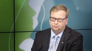 Pertti Porokari, ordförande för Ingeniörsförbundet