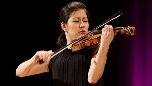 Christel Lee Sibelius-viulukilpailussa 2015