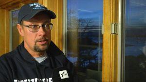 Steve Train, yrkesfiskare i Maine