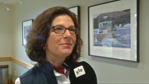 Jen Levine, chef för enheten för hållbart fiske vid Gulf of Maine Research Institute